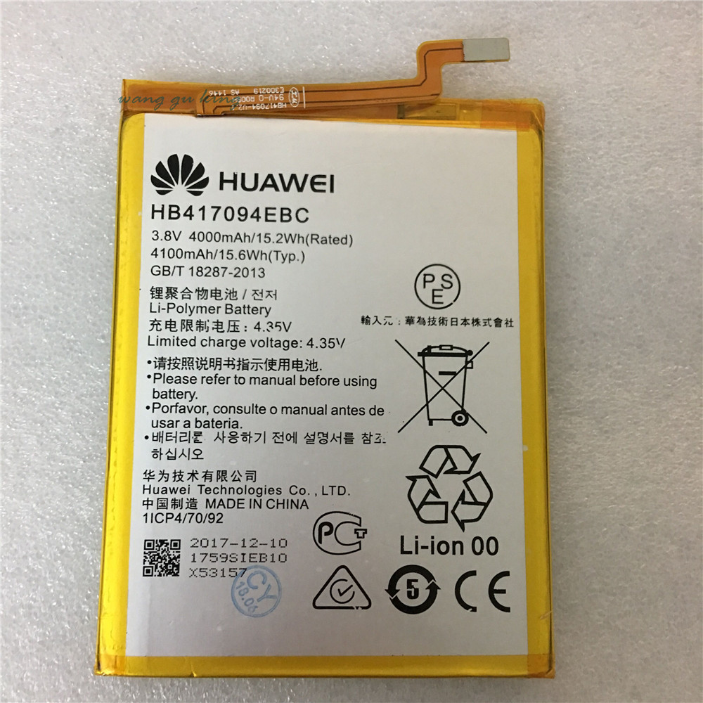 Original For Huawei HB417094EBC Rechargeable Li-ion phone battery For Huawei Ascend Mate 7 MT7 TL00 TL10 UL00 CL00 4100mAh