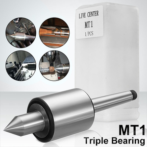 Image 1 - Mt1 Precision Rotary Live Center Taper Triple Bearing Lathe Medium Duty For High Speed Turning Cnc Work