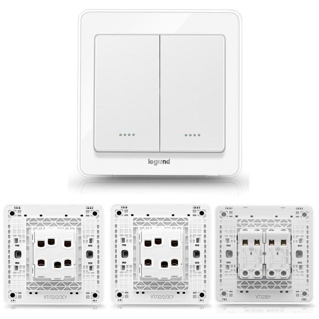 Aliexpress.com : Buy High Quality 2 Gang 3 Way Wall Switch Kit ...