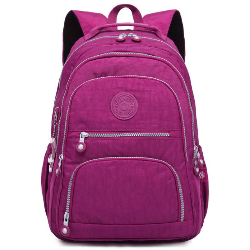 Women Backpack School Bag For Teenage Girls Mochila Feminina Backpacks Large Female Travel Laptop Bagpack High Quality Sac A Dos