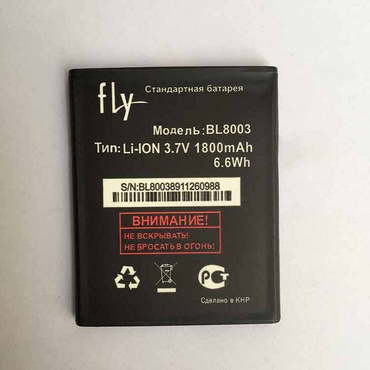 100% New 1800mAh Phone Replacement Li-ion Batteria For Fly IQ4491 IQ 4491 BL8003 Stand Retail Battery FOR Fly BL8003