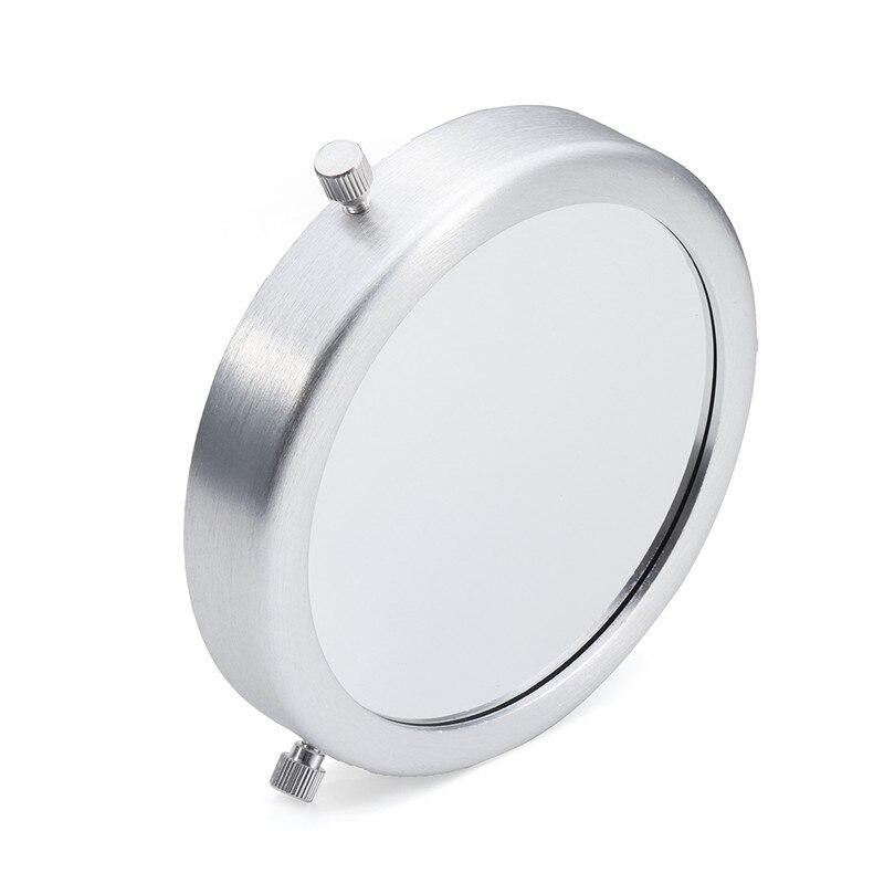 de Alumínio Liga de Prata Filtro Solar