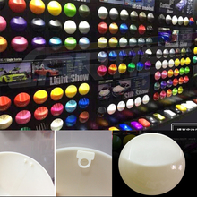New! 13.5*13.5cm 3m Vinyl Wrapping Color Shown Display Model Speed Shape For Car Wrap&Plasti Dip Paint Application Showing MO-A8