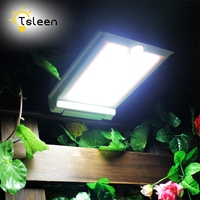 Super Bright LED Outdoor Solar Lights Power Light With PIR Motion Sensor Security Waterproof Solar Lamp
