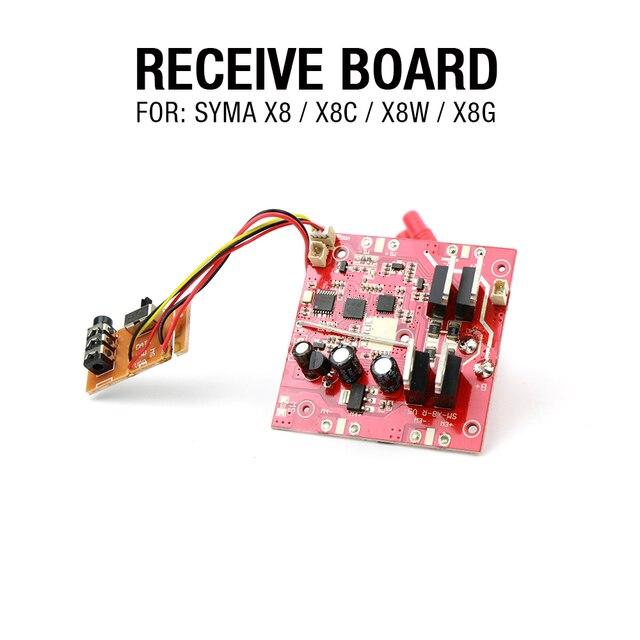 Syma Сыма X8 X8C X8W Приемник 2.4 Г 4ch Syma 6 ось RC Quadcopter Drone Части Замены Аксессуары Бесплатно доставка