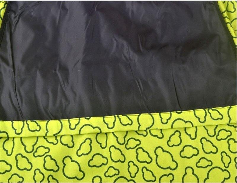 CAWAYI KENNEL PVC Waterproof Small Pet Dog Cat Car Seat Cover Mat Blanket Rear Back Dog Car Seat Protection Hammock D0041 15