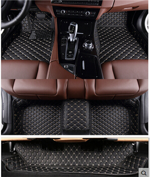 Good mats! Custom special floor mats for Mercedes Benz GL 400 X166 7 seats 2015-2012 waterproof carpets for GL400,Free shipping