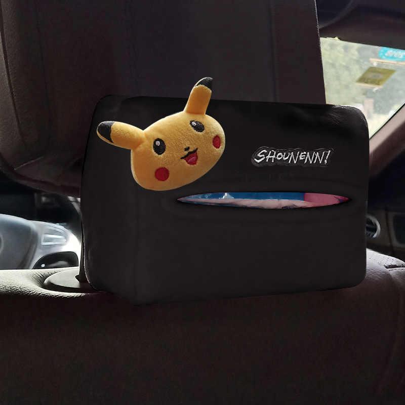 BTZHY Cartoon Animaux Universel Couvre Volant Int/érieur Bow Housse de Volant de Voiture Accessoires Auto Couverture 14 Couleurs Color Name : Pikachu
