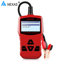 Automatically 12V Battery Tester Analyze Battery Healthy Status Test AGM Flat Plate Battery AGM Spiral Battery