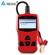Nexas NB300 автоматически Батарея Тестер 12 В CCA автомобиля анализатор тестер около батареи Батарея Анализатор автомобилей тестер лучше, чем BA101