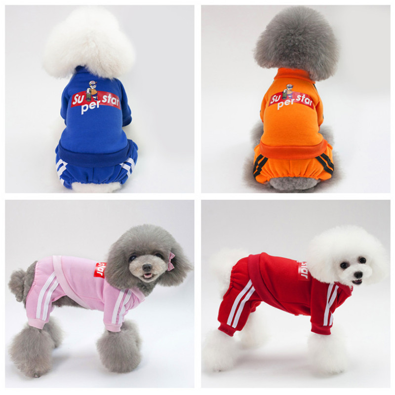 New Warm Autumn Dogs Suits Pets Cat Dog Clothing chihuahua Clothes for small dogs Yorkies Dog