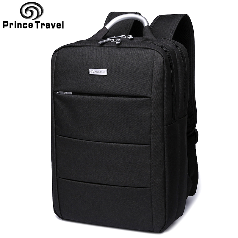 Prince Travel Brand New Backpacks Men'S Business Travel Backpack For 15 16 Inch Laptop Bags Men'S Daypack School Bag For College 14 15 15 6 inch flax linen laptop notebook backpack bags case school backpack for travel shopping climbing men women