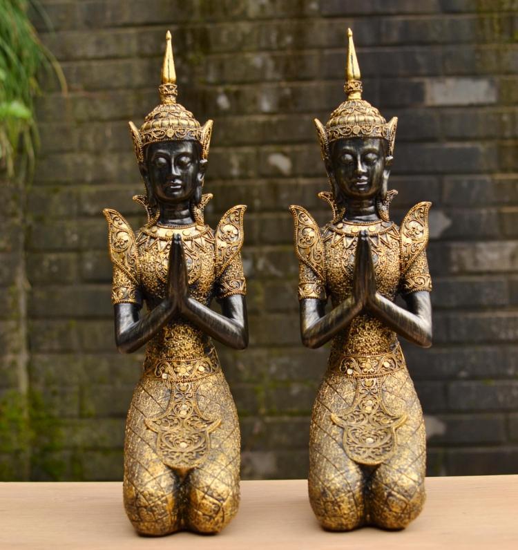 427 5 De Réductionstyle Sud Est Asiatique Bouddha Ornements Ameublement Artisanat Thaïlandais Salon De Beauté Ameublement Cadeaux De Mariage In