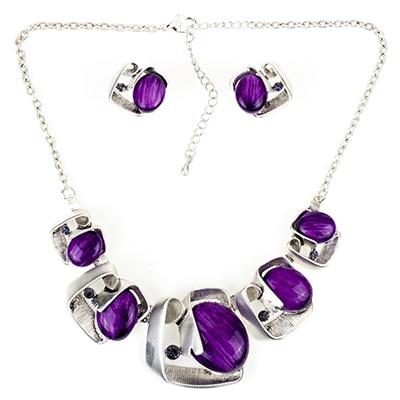 MS18063 Jewelry Sets Purple...