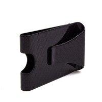 Front Pocket Purse RFID Blocking Credit Cards Holder Men Simple Slim Wallet Carbon Fiber LT88