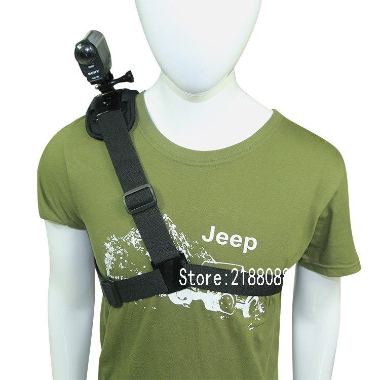Hombro correa de montaje AS100V AS30V Mount pecho arnés cinturón para Cámara de Acción Sony accesorios para HDR-AS15v AS30v AS100v AS200V