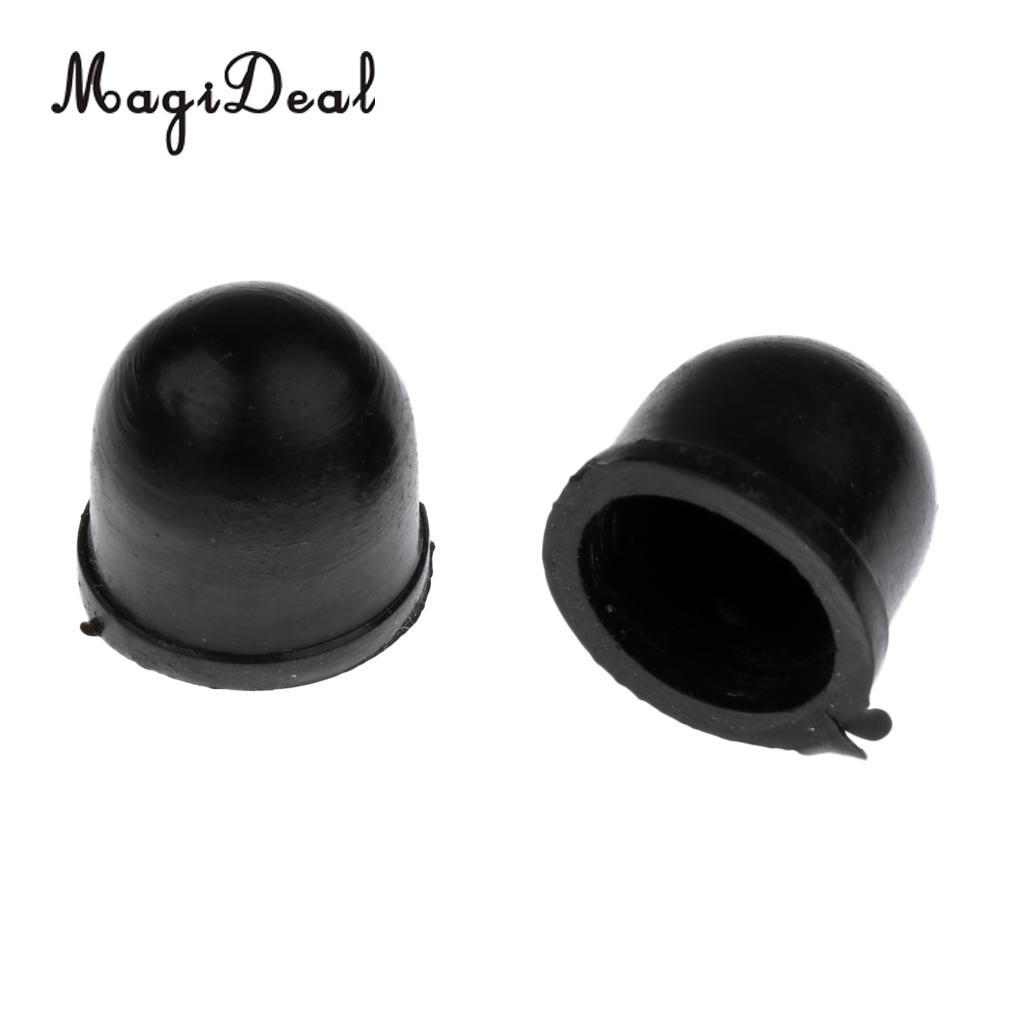 2 Pcs Brand New Replacement Pivot Cups - For Longboard / Skateboard Truck - Black - Rubber Skate Board & Accessories