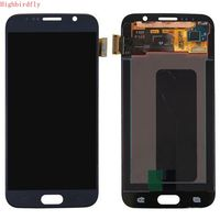 5.1 Highbirdfly For Samsung Galaxy S6 SM G920F G920F Lcd Screen+display+Touch Glass Assembly Replacement Amoled