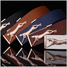 Free Shipping 2015 New Men's Fashion Leisure Fancy Pants Match Smooth Buckle The Man Leather Belt