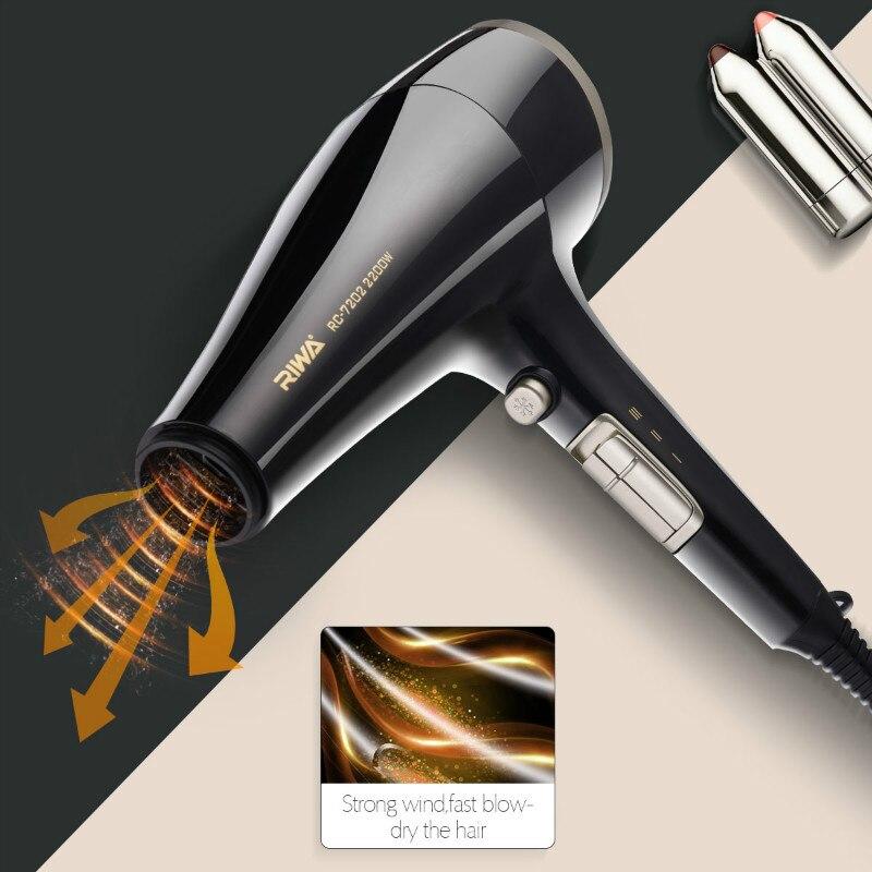 2200 Вт Original быстро сушить фен профессиональный салон Стилизация инструмент Горячая/холодного воздуха Фен замок влага защиты волос S50