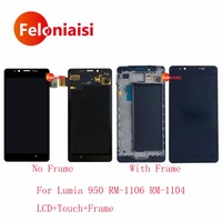 10Pcs Lot For Nokia Microsoft Lumia 950 RM 1106 RM 1104 Lcd Display With Touch Screen