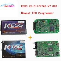 Лучшая цена зеленый PCB Ktag V7.020 K тег 7,020 + Kess V2 V5.017 OBD2 менеджер Тюнинг Комплект ECU программист инструмент без маркеров Limited