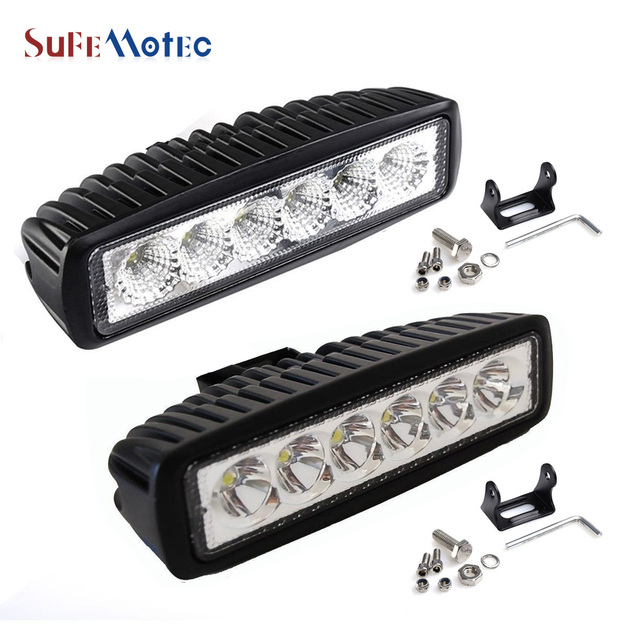 Sufemotec 6inch 18w mini led light bar for offroad truck tractor led sufemotec 6inch 18w mini led light bar for offroad truck tractor led work light spot flood aloadofball Image collections