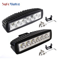 Free Shipping New Arrival 18W MINI LED Light Bar For Offroad Truck Tractor CREE LED Work