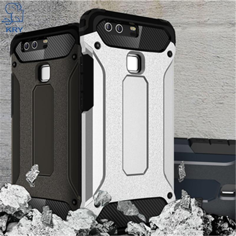 Kry мягкие Телефонные Чехлы для Huawei P9 случае ТПУ кремния тонкий жесткий защитить кожу ультра тонкий чехол для Huawei P9 случае В виде ракушки
