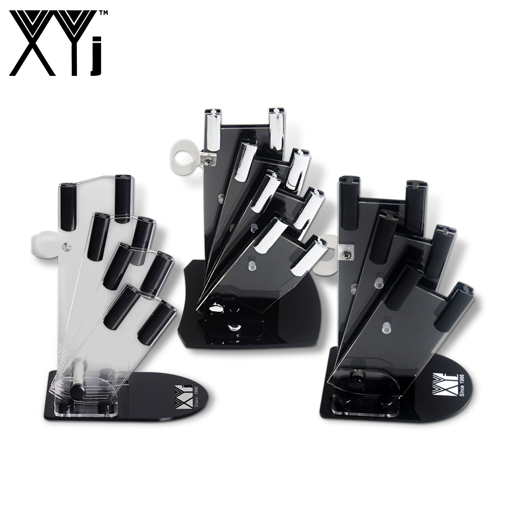 XYj Kitchen Ceramic Knife Block Cooking Knife Holders Universal Ceramic Knife Storage Stand Tool Holder Kitchen Gift Knife Home