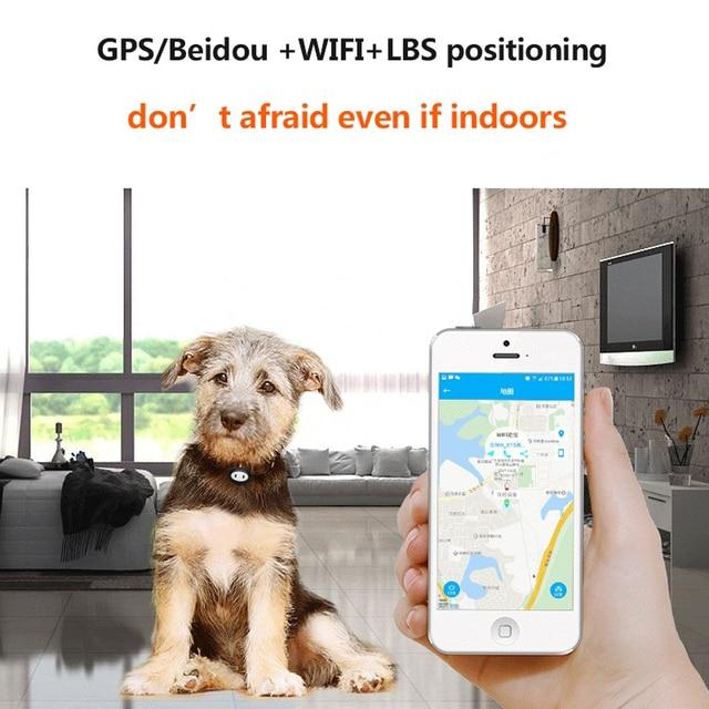 Waterproof IP68 - Geo-Fence Mini GPS Tracker For Cats & Dogs 2