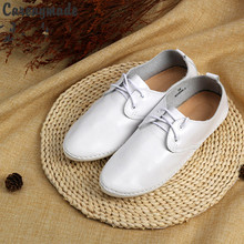 Hot selling,New 2016 Literary retro pure handmade shoes head layer cowhide buckles low shallow mouth documentary women