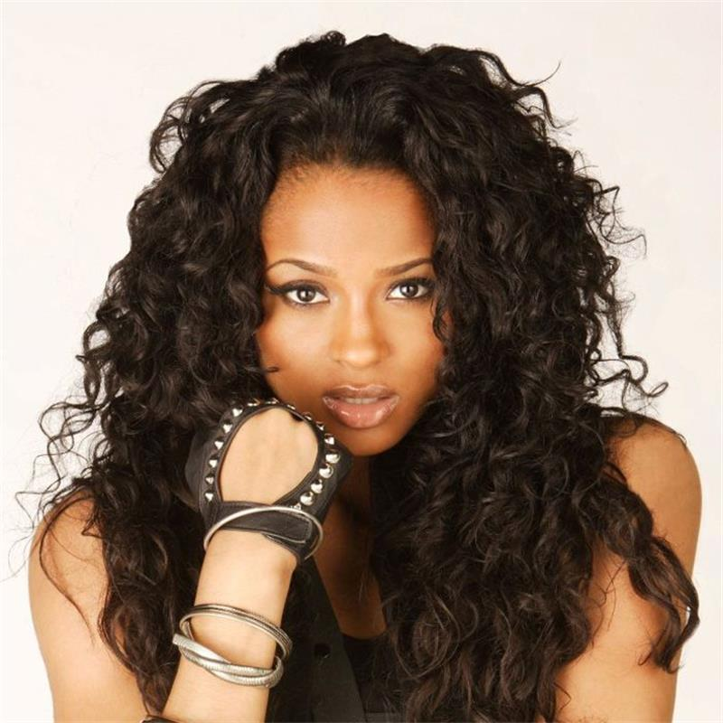 130% Density Full Lace Wigs With Baby Hair High Quality Virgin Mongolian Glueless Curly Full Lace Wigs With Natural Hairline