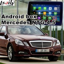 Android GPS navigation box video interface for Mercedes-benz NTG-4.5 with cast screen
