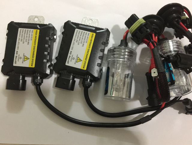 35W 55W Slim Ballast Xenon HID Bulb Kit 12V H1 H3 H7 H8/H9/H11 9005 9006 HB3 HB4 880 881 Car Light Source Auto Xenon Headlight