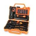 Jakemy 45 em 1 precisão chave de fenda set mão eletrônico profissional caixa de ferramentas conjunto de ferramentas de reparação de abertura ferramentas para iphone pc Kit