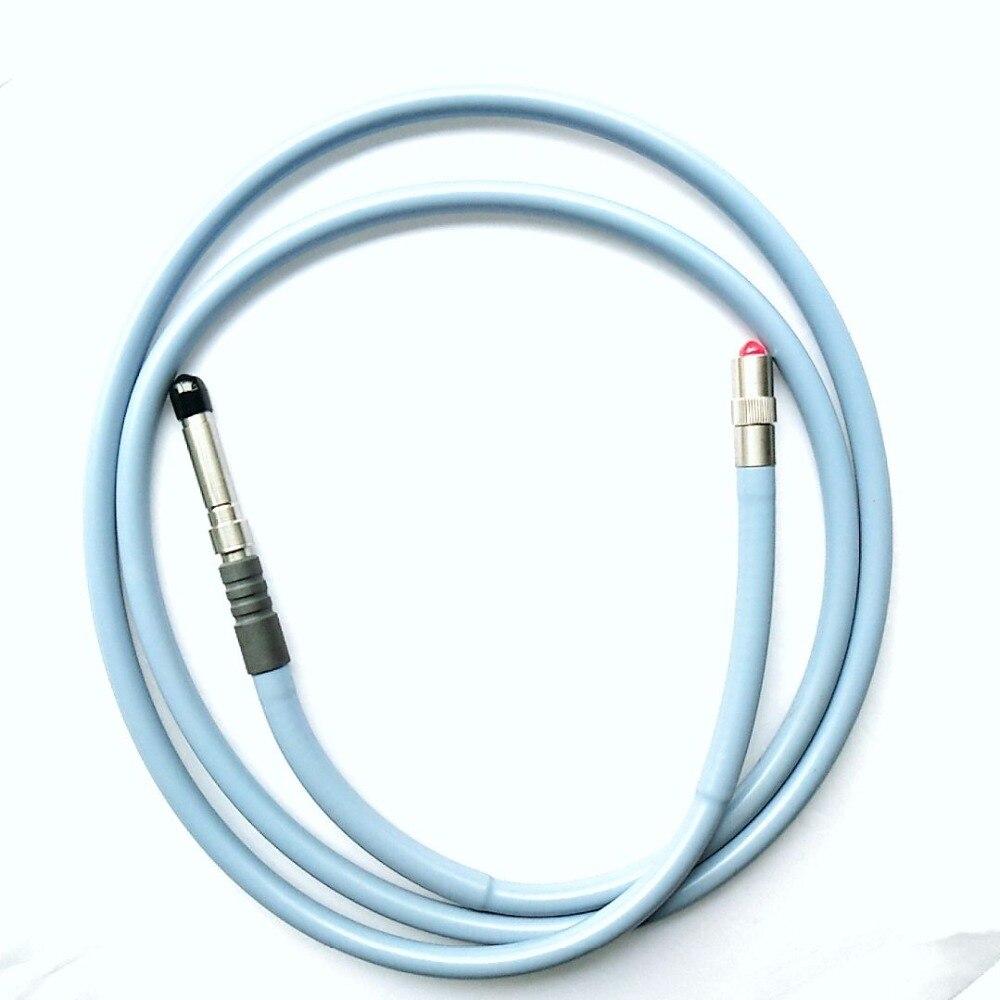 Conector de fibra endoscópio stryker útil/storz medical lâmpada guia de cabo de fibra cabo endoscópio/F-1800N-1pcs