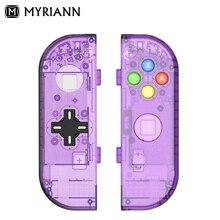 (D PAD الإصدار) استبدال الإسكان الحال بالنسبة نينتندو التبديل NS تحكم Joy Con شل لعبة وحدة التحكم التبديل