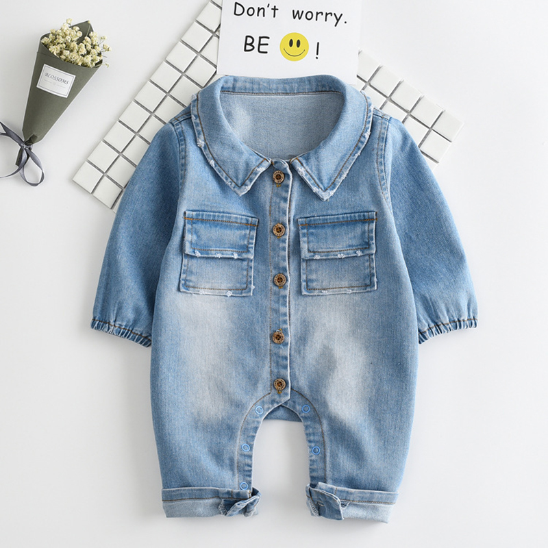 Baby Romper Soft Denim Fashion Rainbow and Giraffe Styles Infant Clothes Newborn Jumpsuit Babies Boy Girls Costume Cowboy Jeans puseky 2017 infant romper baby boys girls jumpsuit newborn bebe clothing hooded toddler baby clothes cute panda romper costumes