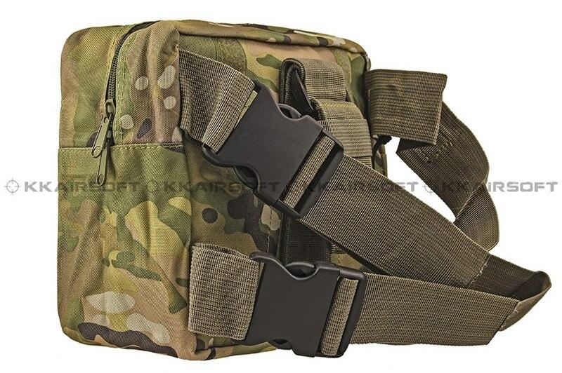 Молл военно-тактические талии мешок рюкзак падения нога Панель Утилита сумка [ph-04-cp песок камуфляж BK зеленый камуфляж] - Цвет: CP