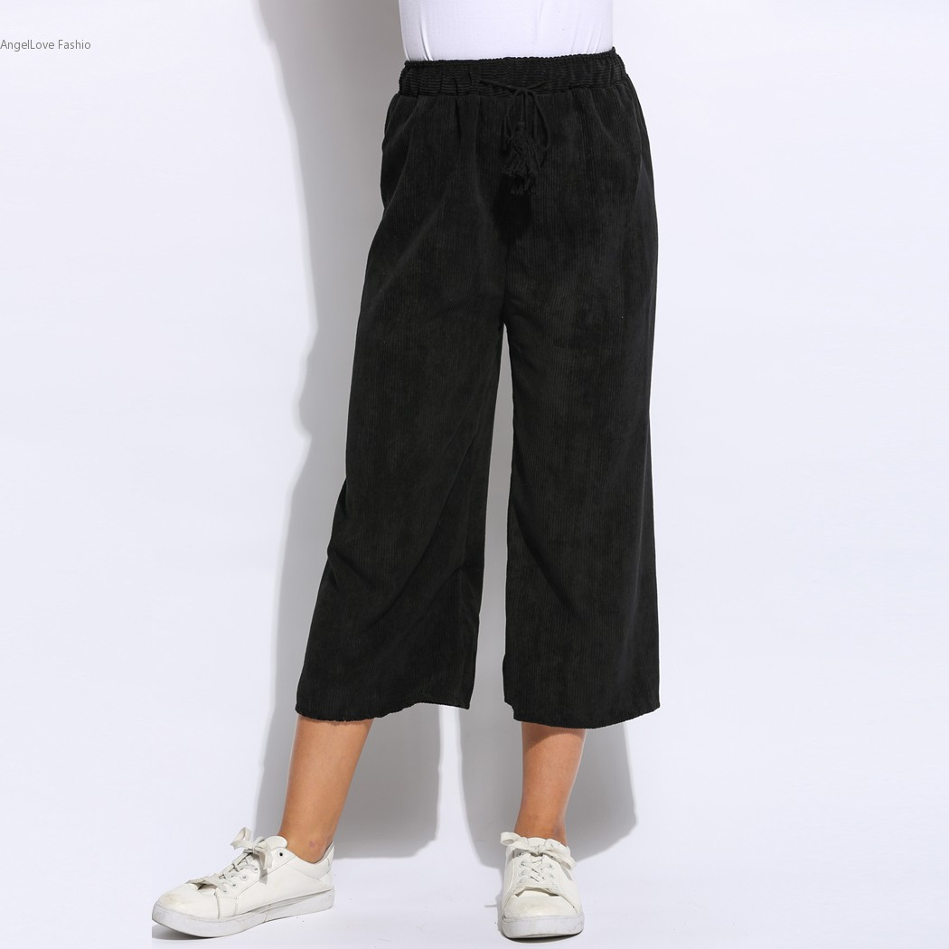Popular Wide Leg Corduroy Pants for Women-Buy Cheap Wide Leg ...