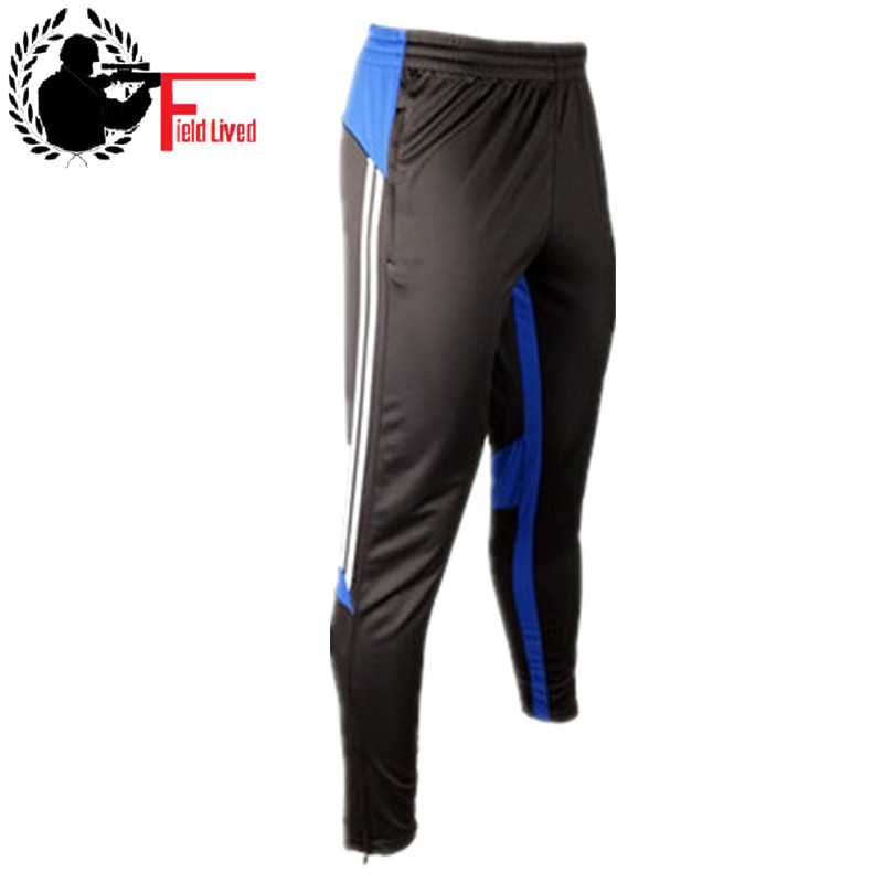 Men Active Trousers Sporting Pants Male Track Skinny Leg Soccers Mens Joggers Zipper Pocket Pants Male Bottom Pantalon Foot 2019