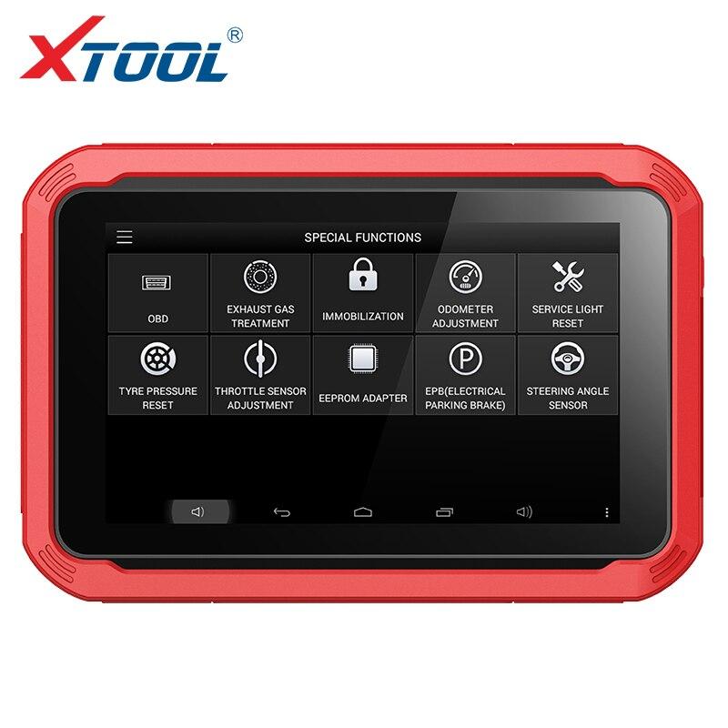 2018 100% Original XTOOL X100 PAD Profissional Programador Chave Auto X100 Pad com Função Especial Vida Livre Atualização Online