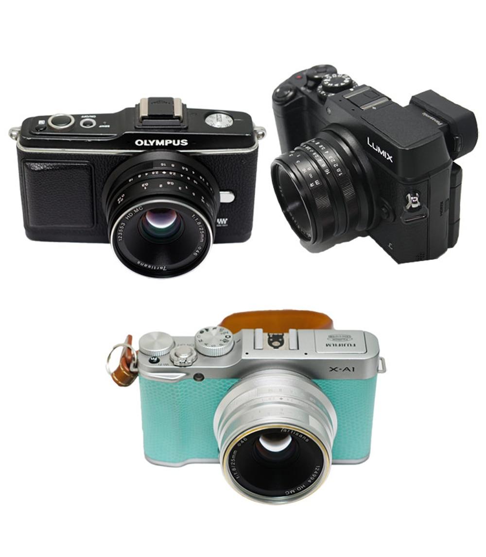 Micro lentile Primul obiectiv Inseesi 25mm f1.8 pentru E Mount / - Camera și fotografia - Fotografie 2
