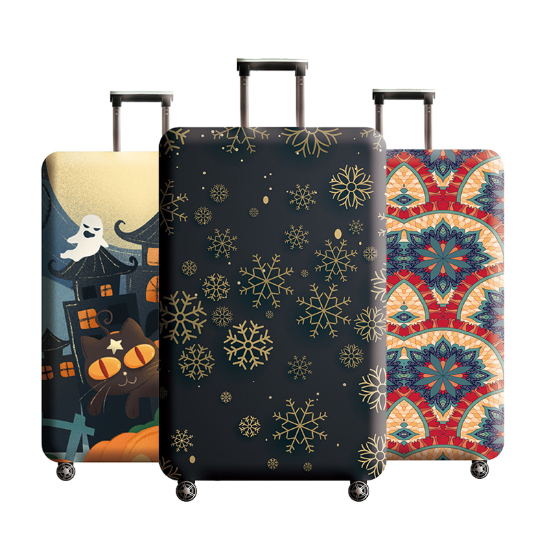 Luggage Protector Cover Traveling Accessories Thicker Suitcase Elastic Protective Covers Trolley Case Dust For 18-32 Inch H243
