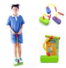 Весело и Безопасно Играть Пены Pogo Перемычки junmping сваях отказов обувь Поощряет активный Образ Жизни Делает Скрипучие Звуки дети взрослая игрушка
