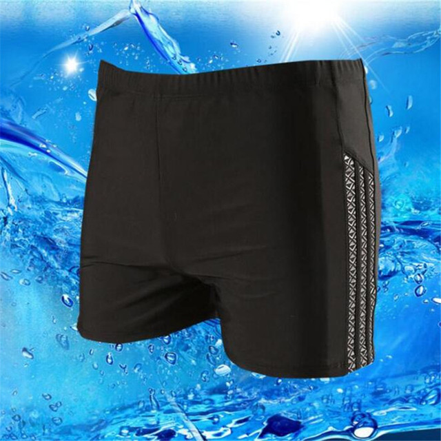 2017 Hot Sexy Men Swimwear Casual Board Shorts Swimwear Fitness Compression Pro Man Boxer Trunks Beach Hot Spring 6XL Big Yards