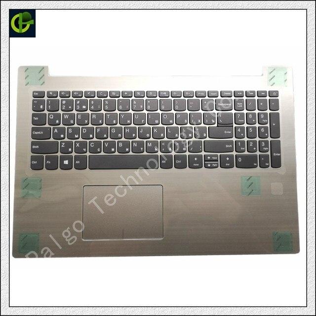 ต้นฉบับแป้นพิมพ์รัสเซียTOPสำหรับLenovo IdeaPad 320 15 320 15IAP 320 15AST 320 15IKB 520 15ikb 330 15 RU palmrest