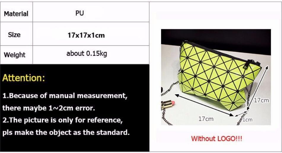 18 Famous Bao Bags Women Geometric Lingge Envelope Handbag Small Chain Clutch Ladies Shoulder Bags Messenger Bag Bao Bolsa 6