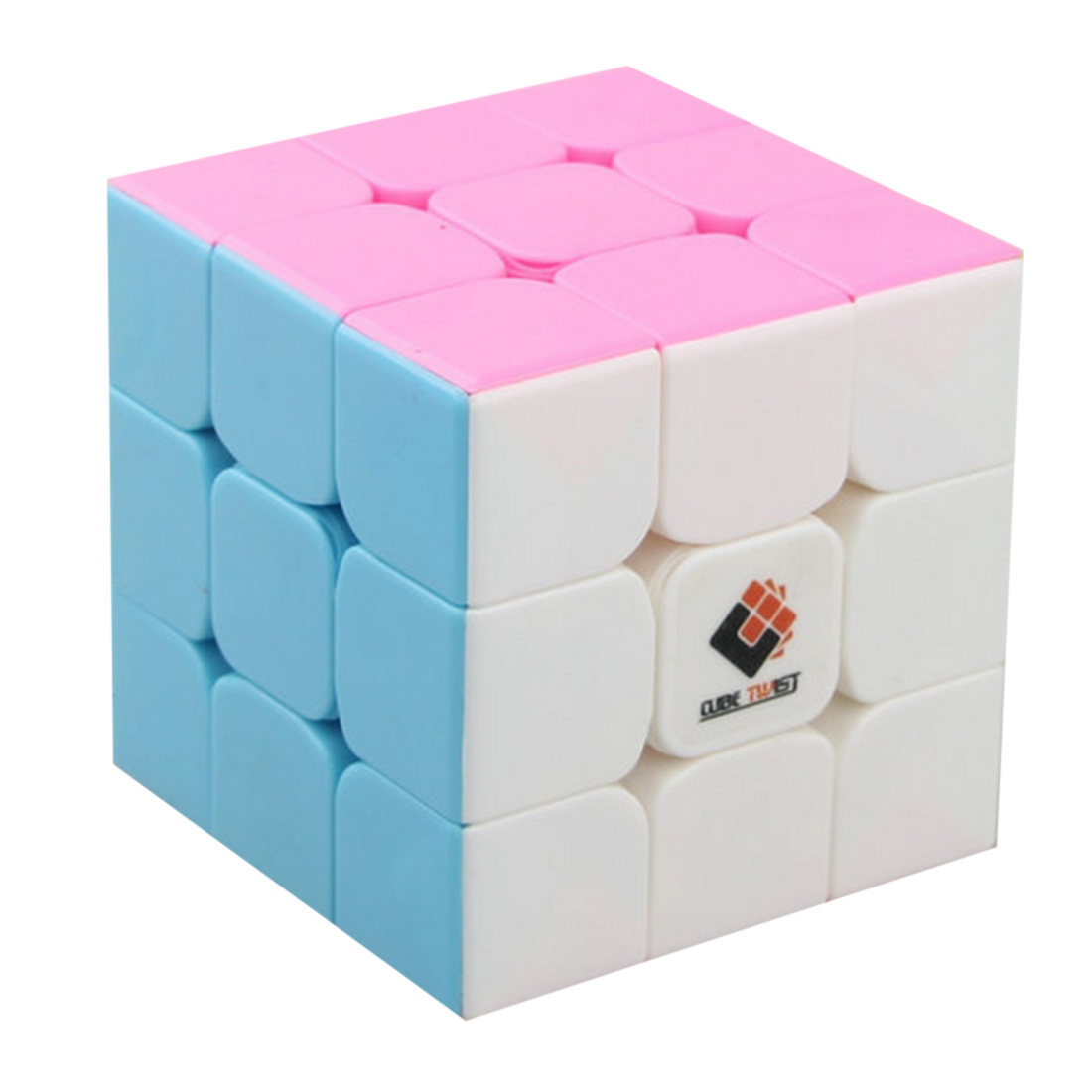Cube Twist Heibao Professional Design 3x3 Magic Cube Puzzle Toys For Challenging - Colorful